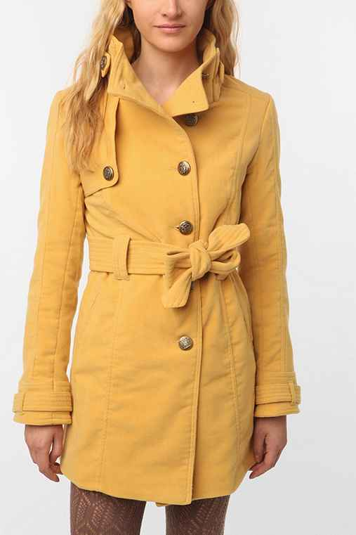 BB Dakota Romaine Belted Coat