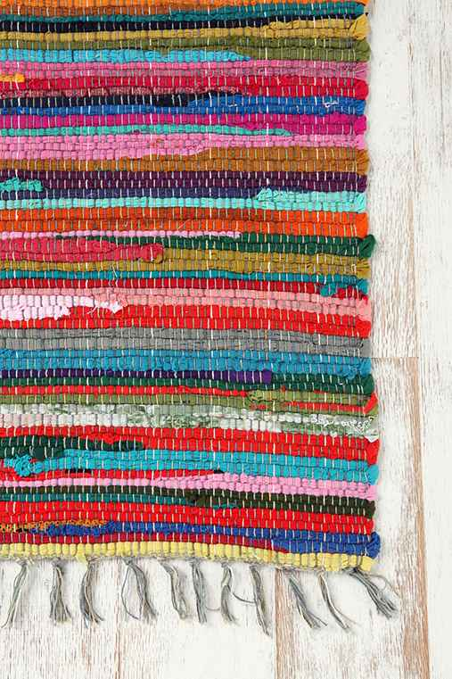 Thumbnail image for Rainbow Rag Rug  (Multiple Sizes Available!)
