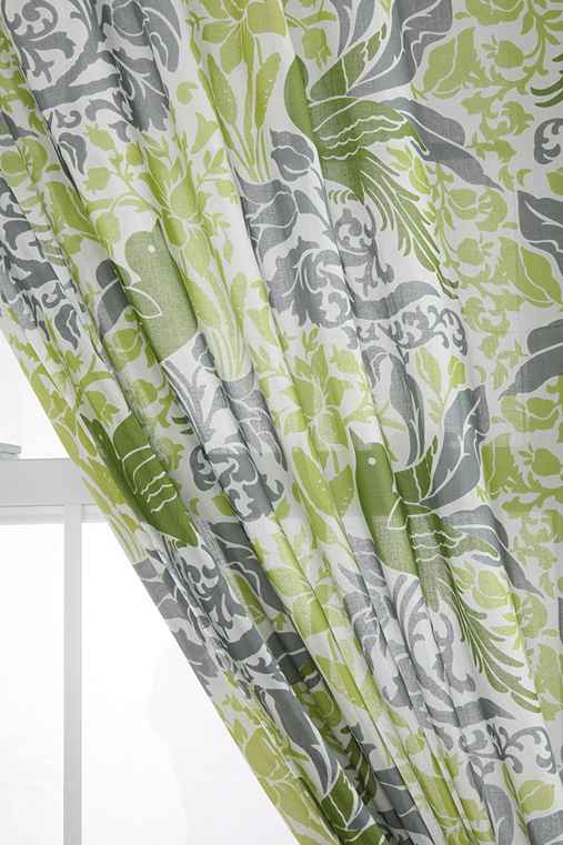 Bird Flourish Curtain - Urban Outfitters