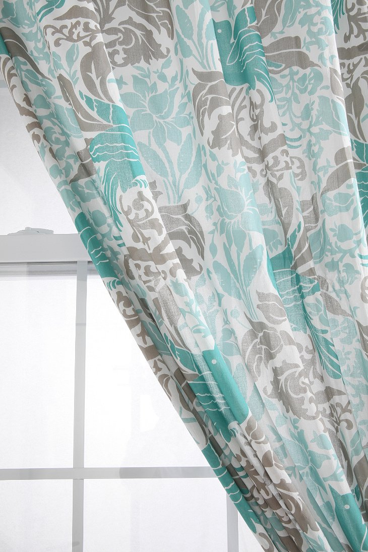 Bird Flourish Curtain Urban Outfitters