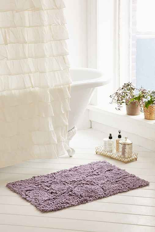 Frayed Roses Bath Mat