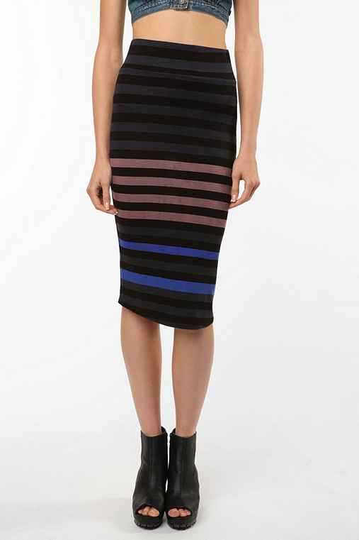 UrbanOutfitters.com > BB Dakota Nikki Midi Bodycon Skirt
