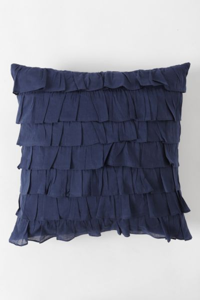 Waterfall Ruffle Pillow