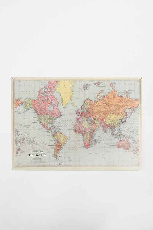 Thumbnail image for World Map Poster