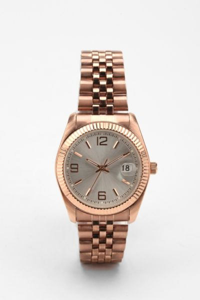 Rose Gold Menswear Watch