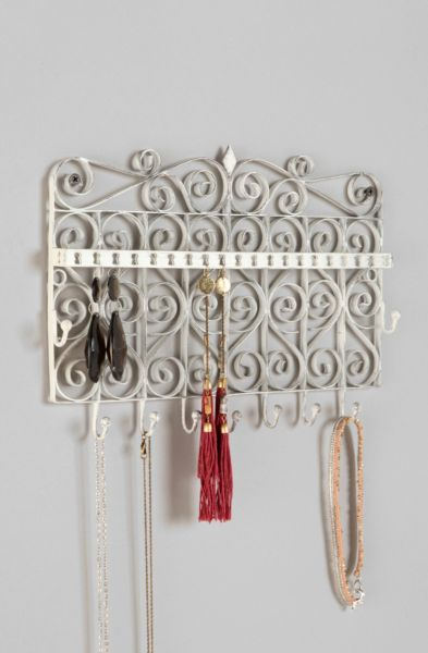 Scrollwork Gate Jewelry Stand