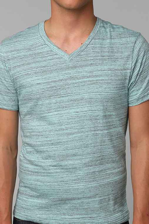 BDG Cotton Marble V-Neck Tee