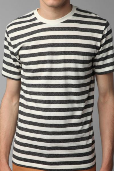 BDG Striped Crewneck Tee
