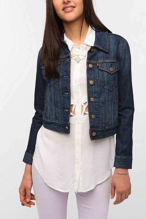 Levi's Denim Trucker Jacket - Dark Wash