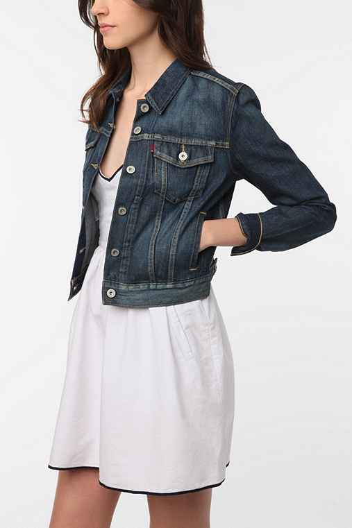 Levi's Denim Trucker Jacket - Rinsed Denim