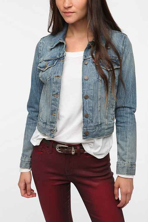 Levi's Denim Trucker Jacket - Destroyed Wash