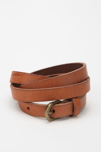 BDG Skinny Leather Belt