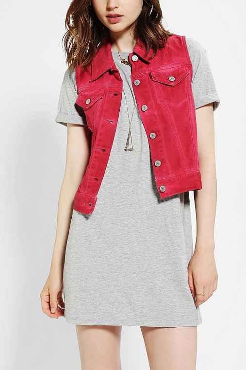 Levi's Denim Trucker Vest