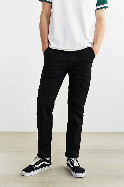 Hawkings McGill Stretch Skinny Chino Pant,BLACK,29/30
