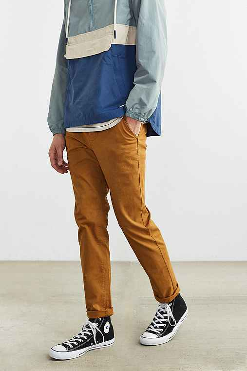 Hawkings McGill Stretch Skinny Chino Pant,BRONZE,34/32