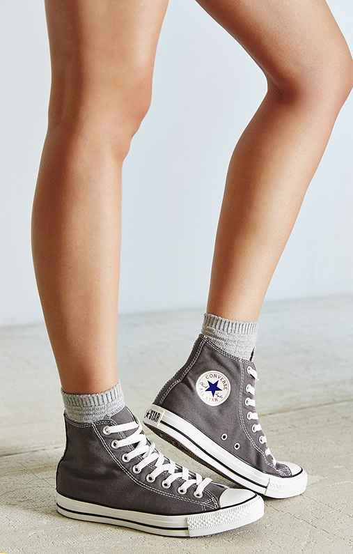 Converse Chuck Taylor All Star High-Top Sneaker,GREY,8