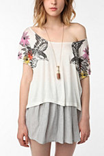 Pins and Needles Twin Sparrows Over-the-Shoulder Tee