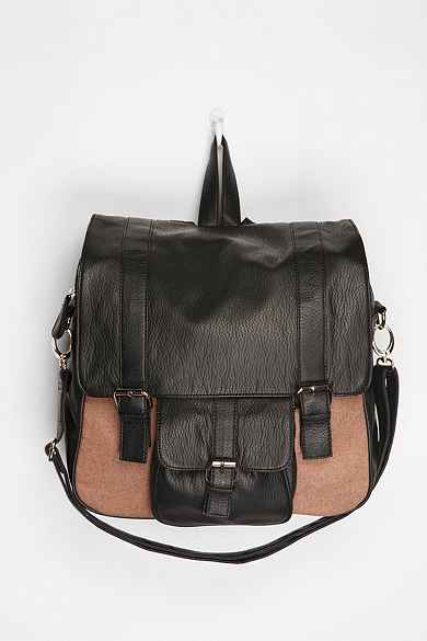 Deux Lux Boxy Buckled Backpack