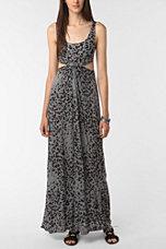 Sparkle & Fade Cutout Maxi Dress
