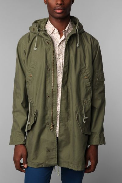 Alpha Industries Duster Fishtail Jacket