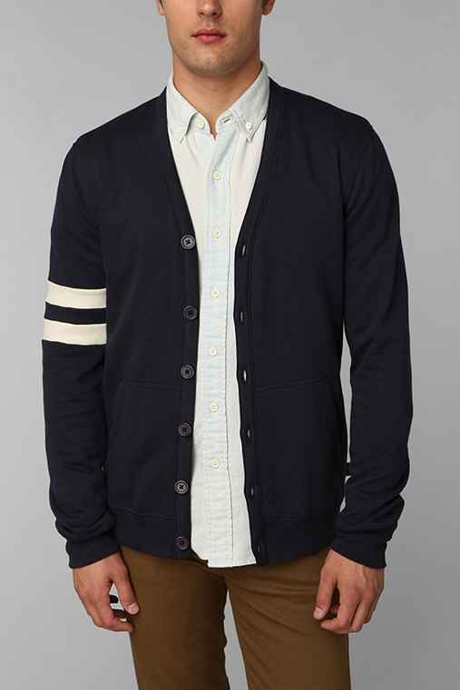 Hawkings McGill Fleece Varsity Cardigan