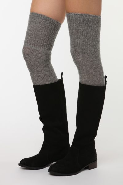 Knitting Pattern For Over The Knee Socks : Cable Knit Rib Foldover Over-the-Knee Sock - Urban Outfitters