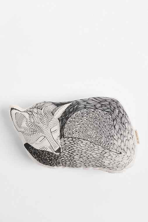The Rise and Fall Sleeping Fox Pillow