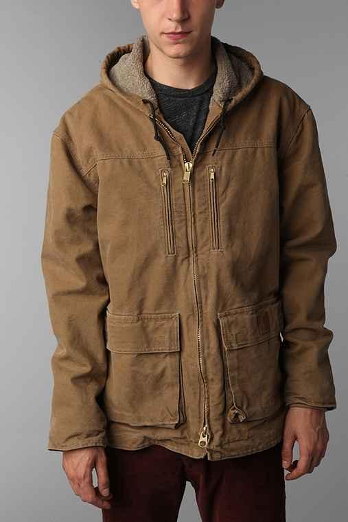 Loop And Hook >> Carhartt Sandstone Jackson Coat - Urban Outfitters