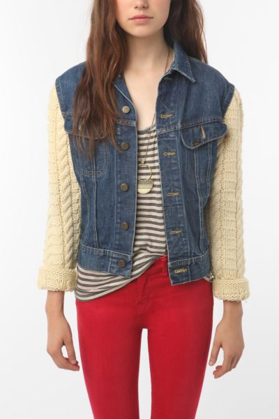 Urban Renewal Fisherman Denim Jacket