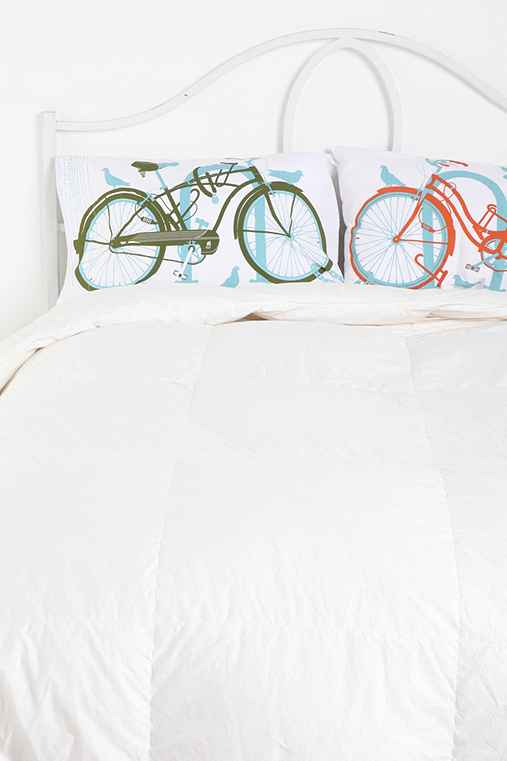 Bike Perch by Methane Studios Pillowcase - Set of 2