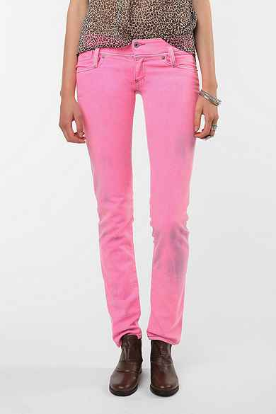 Diesel Matic Skinny Low-Rise Jean - Hot Pink