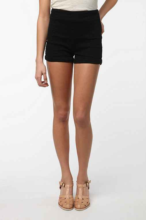 Cooperative High Waisted Denim Shortie