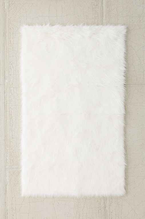 Faux Sheep Skin Rug