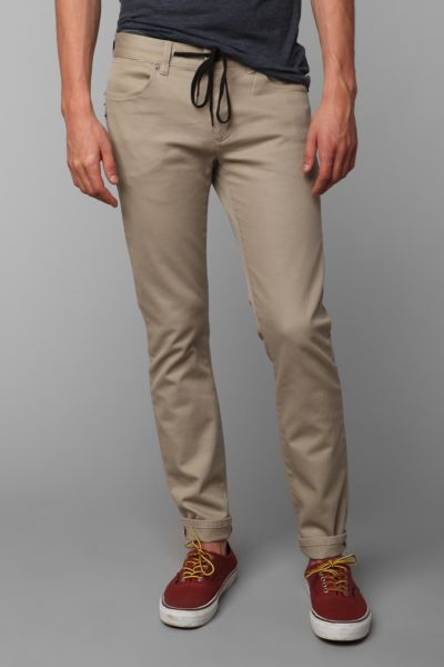 KR3W Slim 5-Pocket Twill Pant