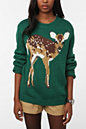 UrbanOutfitters.com > PJ By Peter Jensen Animal Face Sweater :  animal sweater fall trends fall fashion