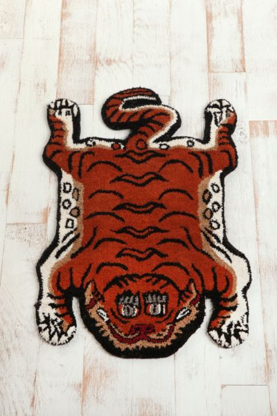 Tufted Tiger Rug