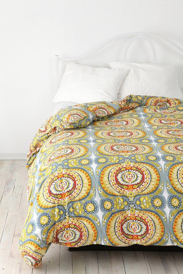 sunshine medallion duvet cover. Black Bedroom Furniture Sets. Home Design Ideas