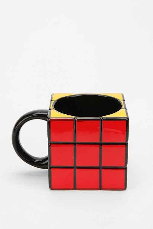Rubiks Cube Mug - Urban Outfitters