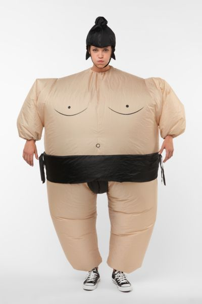 Self Inflating Sumo Suit