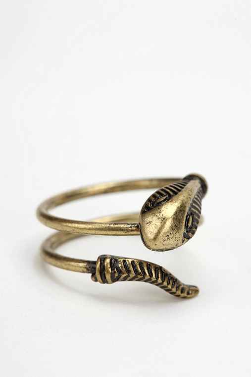 Delicate Serpent Ring