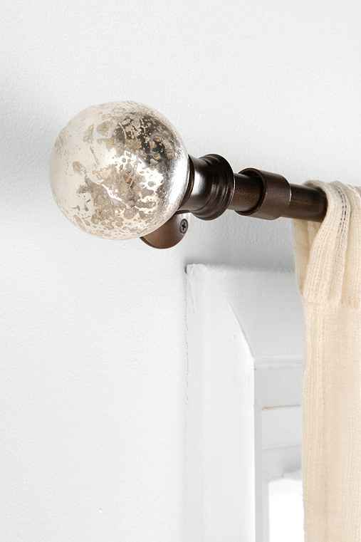 Mercury Glass Finial Set Of 2 Urban Outfitters