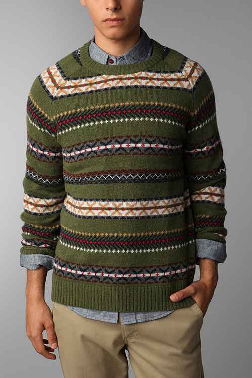 CPO Fair Isle Crew Sweater