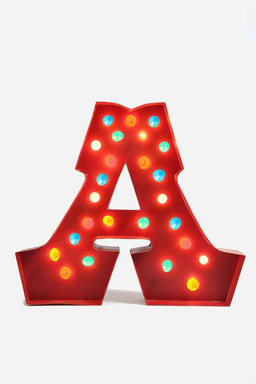 Marquee Alphabet Light - Multi