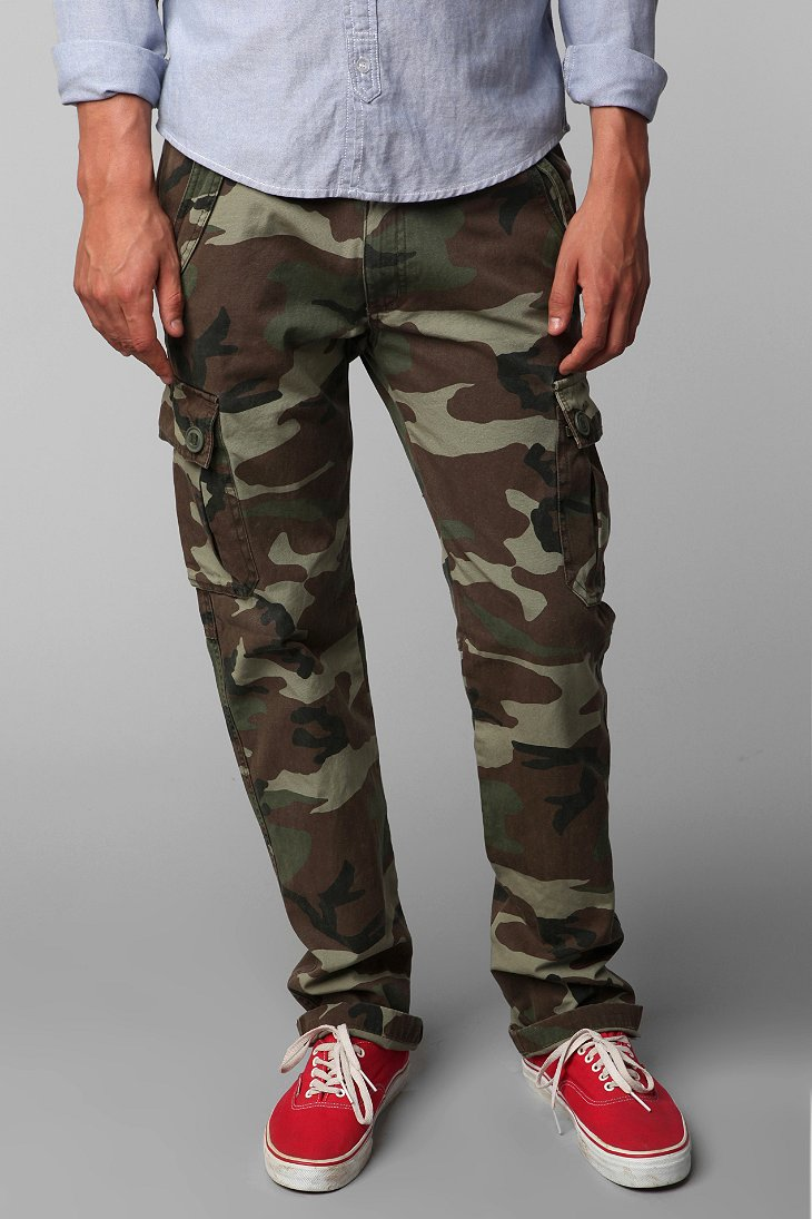 All Son Camo Cargo Pant Urban Outfitters