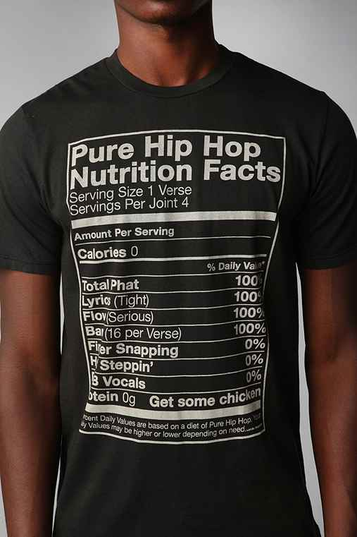 Local Celebrity Hip Hop Nutrition Tee
