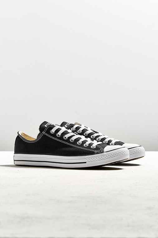 Converse Chuck Taylor All Star Low Top Sneaker,BLACK,7