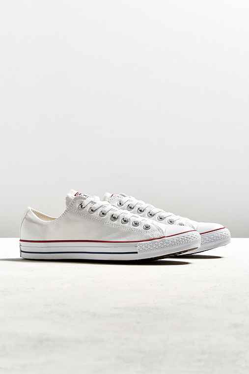 Converse Chuck Taylor All Star Low-Top Sneaker,WHITE,7