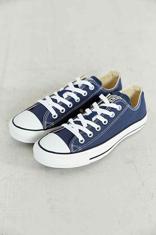 Converse Chuck Taylor All Star Low-Top Sneaker,NAVY,11.5