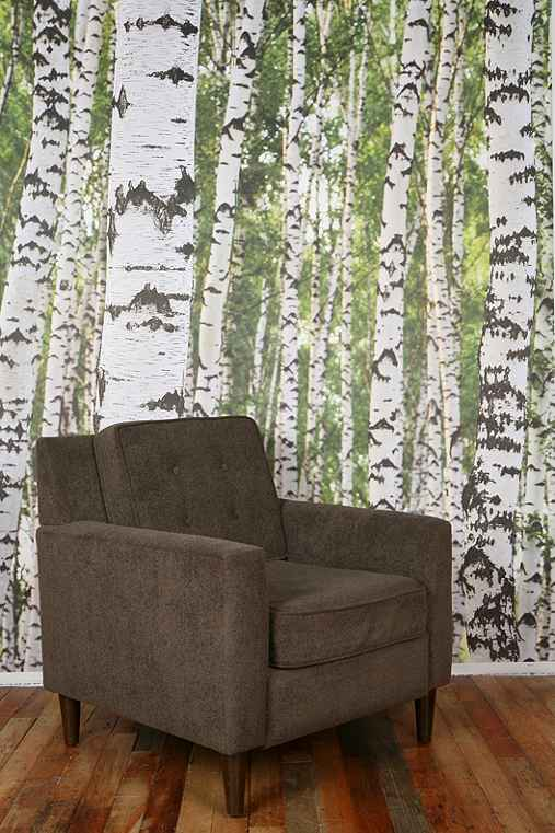 Birch tree wall mural urban outfitters for Birch tree forest wall mural