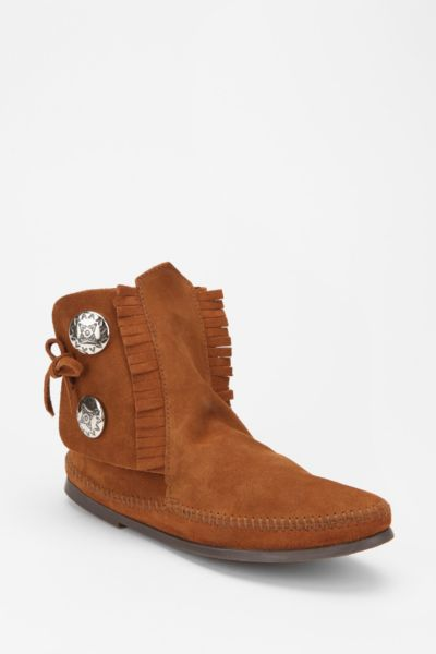Minnetonka Button Boot